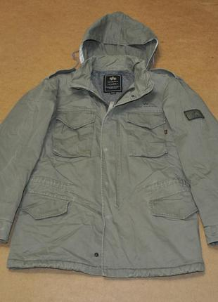 Alpha m-65 мужская куртка