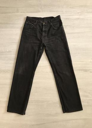 Чорні джинси wrangler
