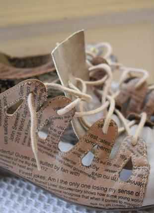 Стильные туфли балетки лодочки rieker р.41 27 см