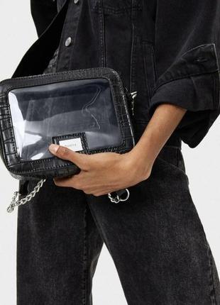 Прозрачная сумка bershka