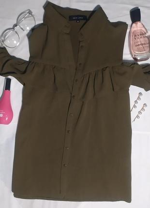 Блузка/красивая блузка с открытыми плечами