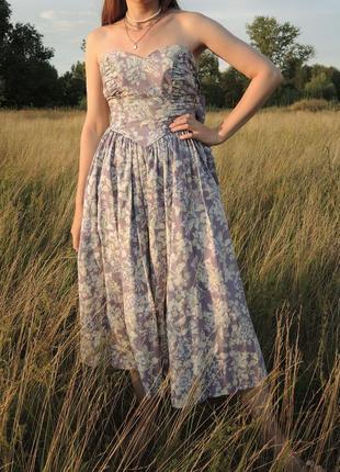 Винтажное платье laura ashley