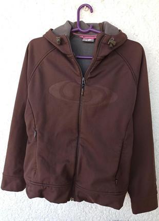 Куртка salomon acti therm m женская саломон softshell ветровка трекинг outdoor