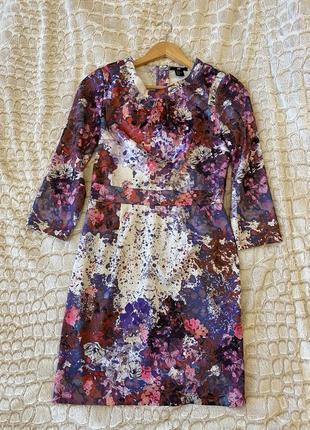 Платье h&m с цветочным принтом