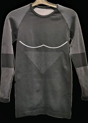 Компрессионная футболка для занятий спортом, италия, бренд - front woman, s, новая