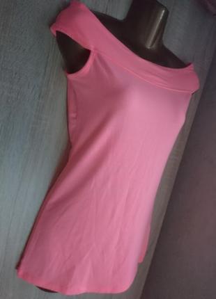 Турецкая яркая футболочка с открытыми плечами jane norman