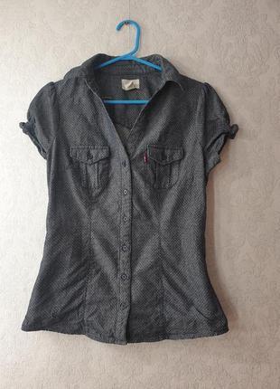Рубашка levi's короткий рукав