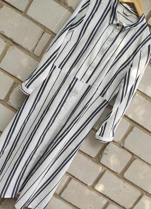Трендовое платье миди с пуговицами спереди раз.l-xl