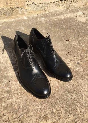 Стильные актуальные туфли тренд ручная работа massimo dutti ecco timberland h&m ботинки