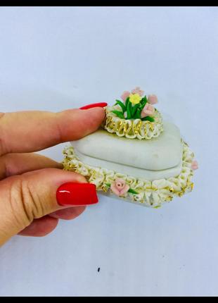 Capodimonte знаменитый фарфор италия миниатюра шкатулка