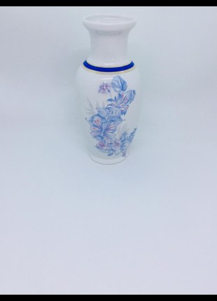 Limoges лимож франция фарфоровая нежная ваза