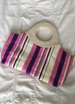 Винтажная сумка с короткой ручкой оригинал estée lauder