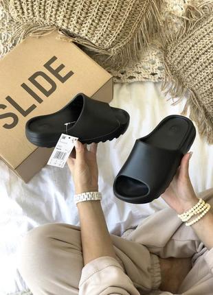 Тапки тапочки adidas yeezy slide шлепки шлепанцы