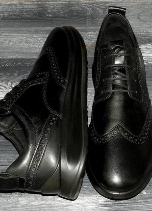 Ecco vitrus aquet ! оригинальные, стильные,кожаные невероятно крутые кроссовки-туфли