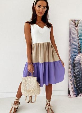 Шикарное платье софт