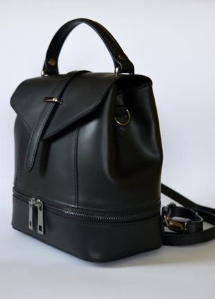 Кожаная сумка-рюкзак, италия (made in italy), цена - 1270 грн ... 15276481a27