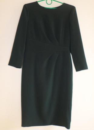 Элегантное платье-миди 38/м.