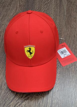 Оригинальная бейсболка-кепка puma ferrari ® scuderia ferrari fanwear cap