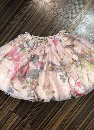 2-3 года юбка пышна нарядная