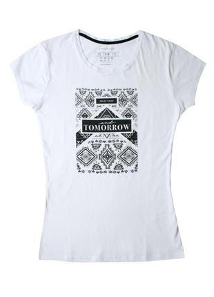 Белая футболка atmosphere primark