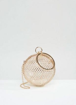 Шикарная винтажная сумочка-сфера от asos design