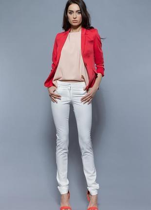 Жакет пиджак блейзер алого цвета от bgl. размер л-ка / usa 40 / ukr 46. распродажа !