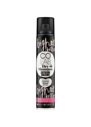 Colab сухий шампунь dry shampoo extreme volume colab