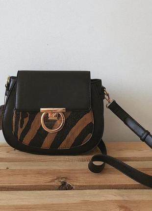 Сумка сумочка на широком ремешке кроссбоди через плечо сумка reserved