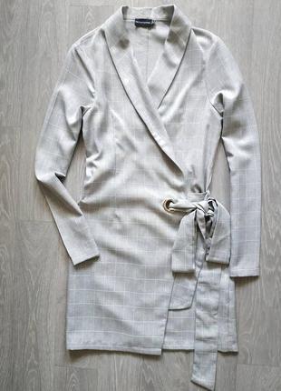 Пиджак с завязками
