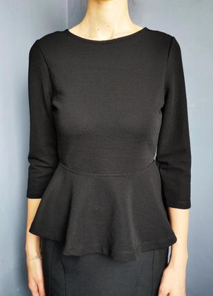Блуза баска с открытой спинкой bik bok