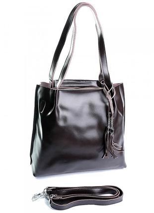 Жіноча шкіряна женская кожаная сумка.