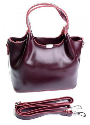 Женская кожаная сумка. жіноча шкіряна сумочка