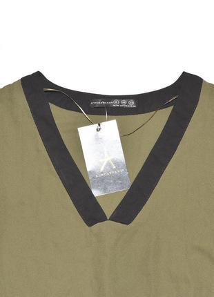 Асимметричная блуза рубашка atmosphere2 фото