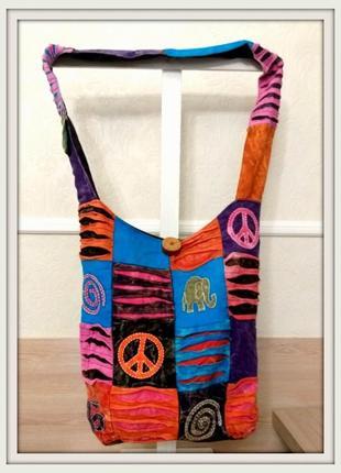 Текстильная сумка пр-во индия