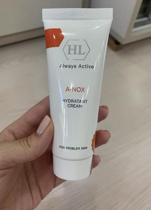 A-nox hydratant увлажняющий крем для жирной кожи holy land
