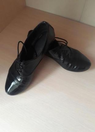Туфли,кожа,лак,италия