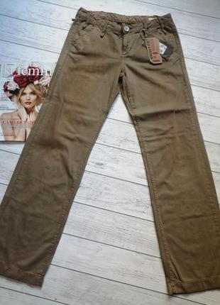 Новые с биркой брюки джинсы винтажные. 100% катон