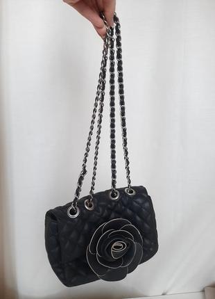 Сумка клатч с цепочкой маленькая сумочка кажаная кошелёк вечерняя dorothy perkin