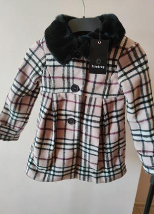Пальто для девочки firetrap