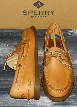 Sperry sahara ! шикарные, стильные, легкие полностью кожаные топ сайдеры