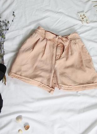 Персикові шорти vero moda