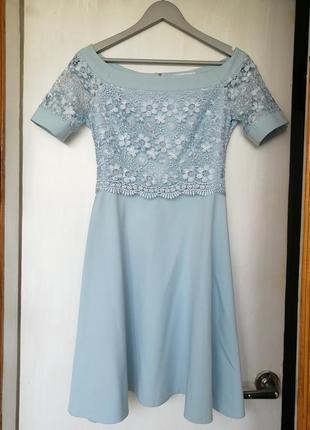 Ніжне небесне плаття
