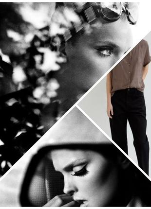 Шикарные дизайнерские стильные брюки с широким манжетом и  стрелками