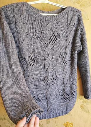 Вязаный свитер оверсайз indigo marks & spencer