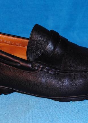 Кожаные мокасины туфли  mephisto 46 размер