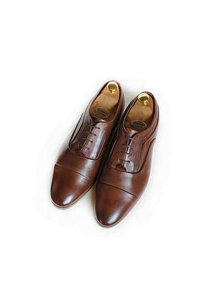 Мужские кожаные туфли оксфорды asos броги лоферы