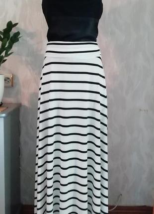 Новая! великолепная юбка, трансформер, длина в пол