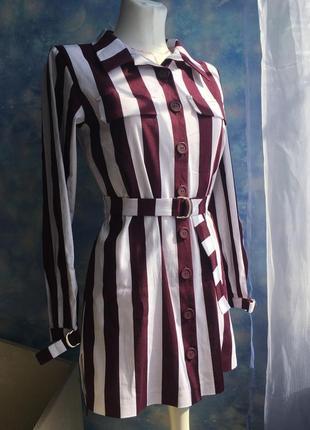 Стильная удлинённая рубашка