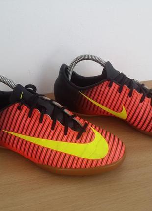 Nike mercurial футзалки 24 см по стельке 38.5р
