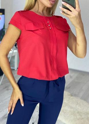 Модная женская блуза. разные расцветки